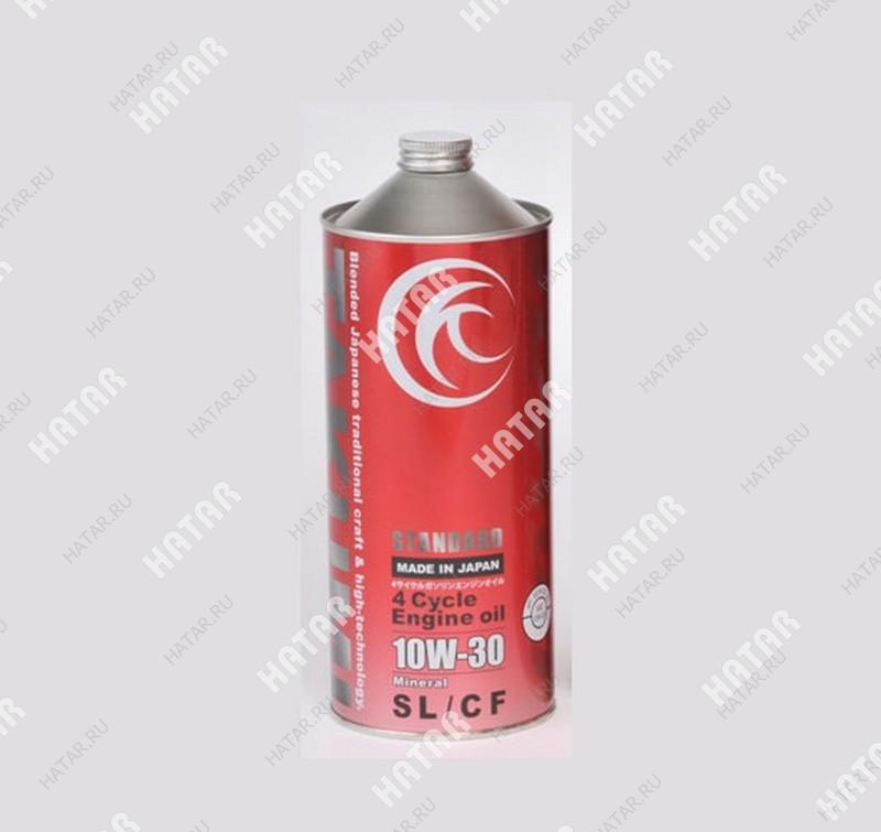 TAKUMI 10w30 standard моторное масло минеральное sl/cf 1л