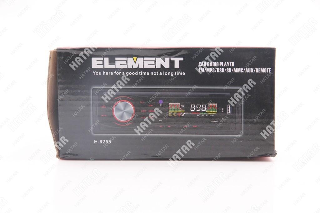 ELEMENT Автомагнитола mp3/wma/aux/aac/sd-card проигрыватель