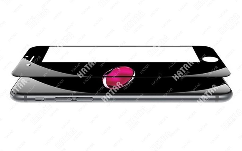 APPLE Стекло защитное 4d для apple iphone 7/8 черное
