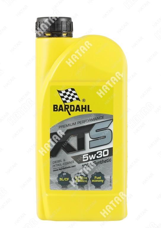 BARDAHL 5w-30 xts cинтетическое моторное масло sl/cf 1л