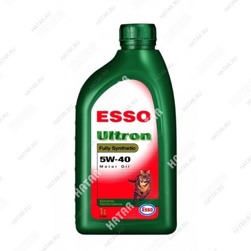 ESSO Ultron 5w40 масло моторное синтетика sm/sl 1л