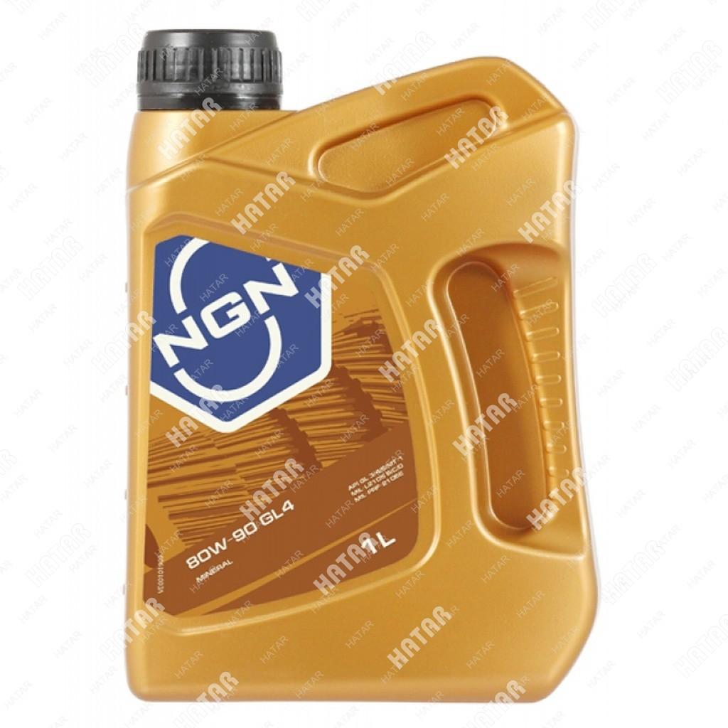 NGN 80w90 масло трансмиссионное минеральное gl-4 4л