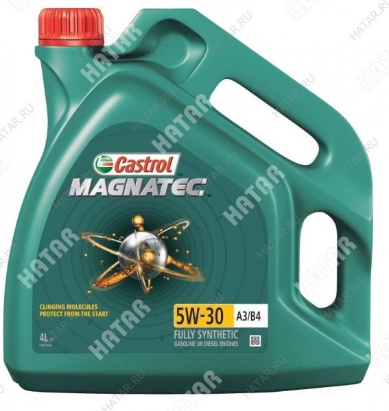 CASTROL Magnatec 5w30 масло моторное синтетика a3/b4 4л