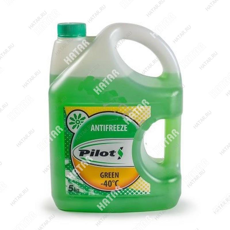 PILOTS Антифриз green (зеленый)  -40с 5кг
