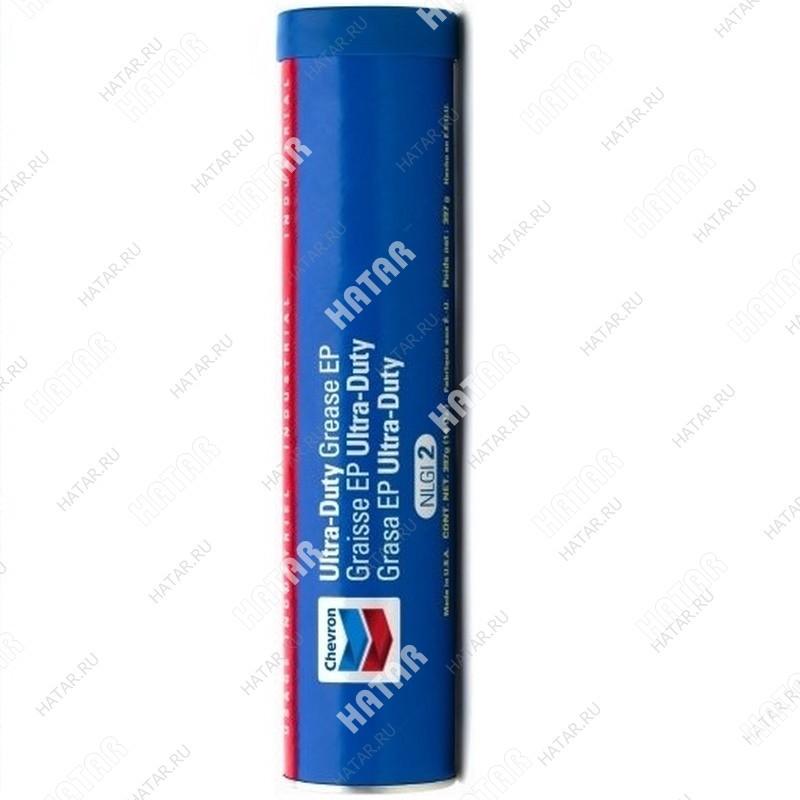 CHEVRON Ultra duty nlgi 1 смазка универсальная долговременная (красная) туба 397г