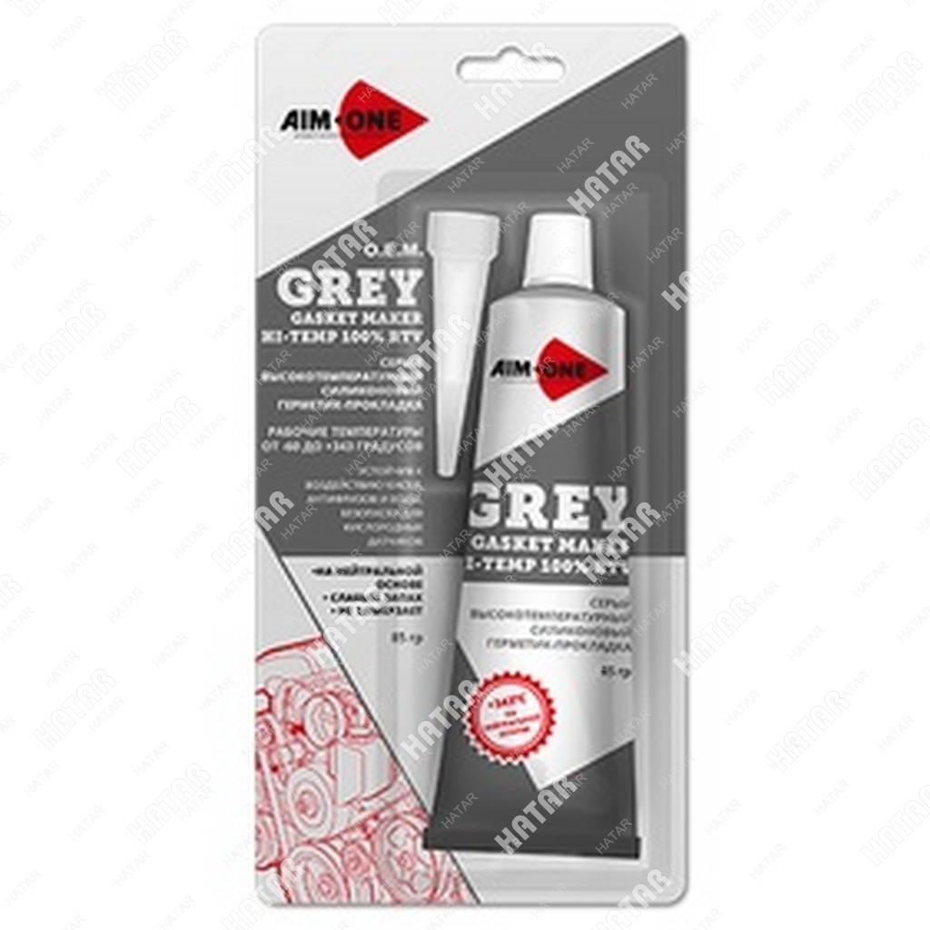 AIM-ONE Герметик для прокладок серый 85г