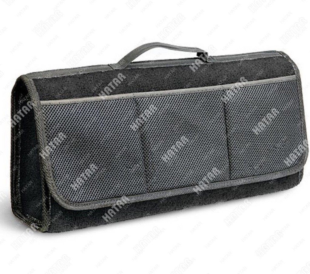AUTOPROFI Органайзер в багажник travel, ковролиновый 50*13*20см, черный