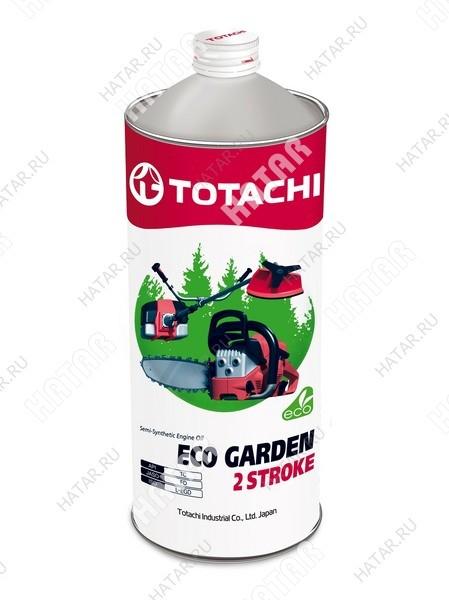 TOTACHI 2t eco-garden 2 stroke моторное масло для 2-тактных двигателей садовой техники tc 1л