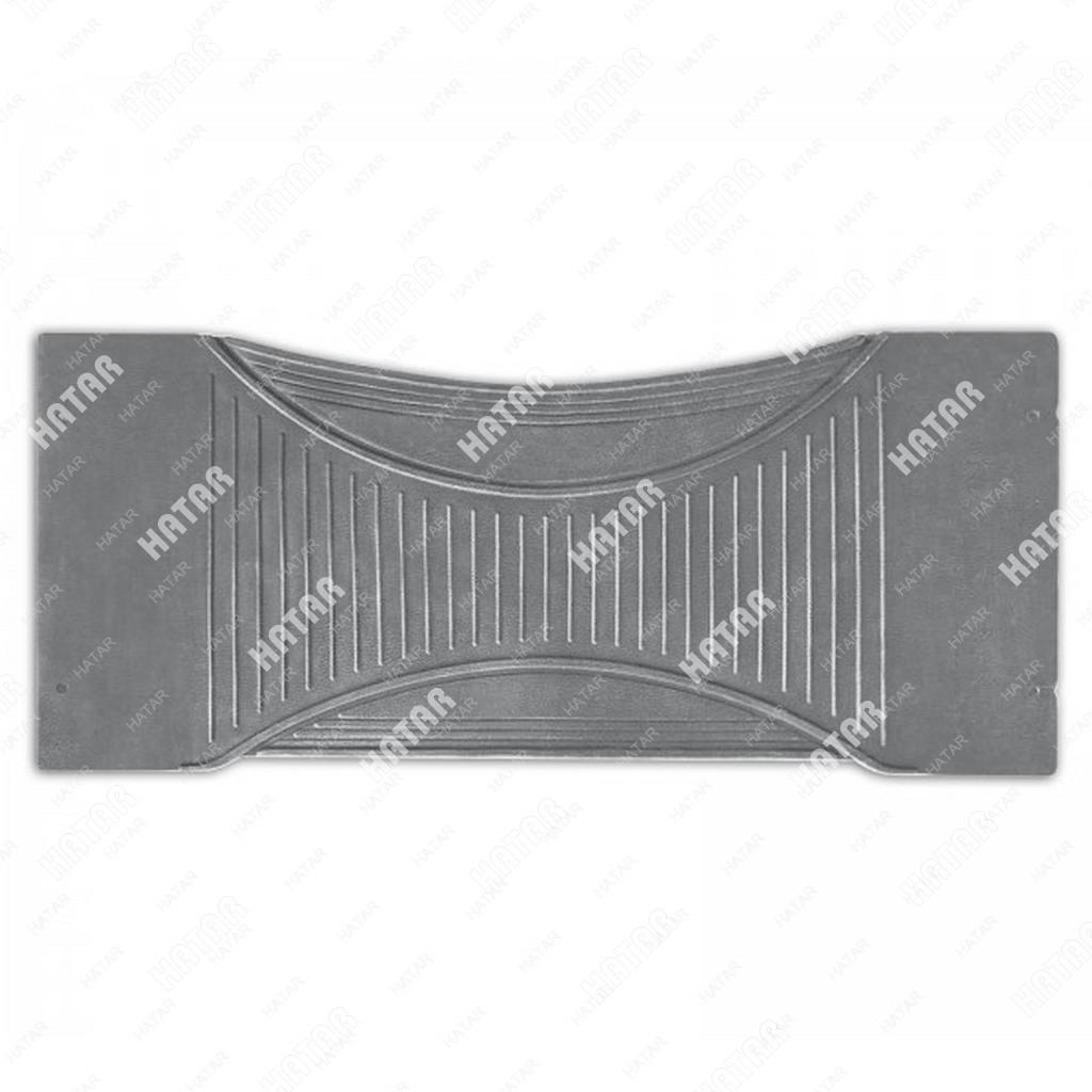 PREMIER Коврик-перемычка автомобильный comfort, серый, термоэластичная резина