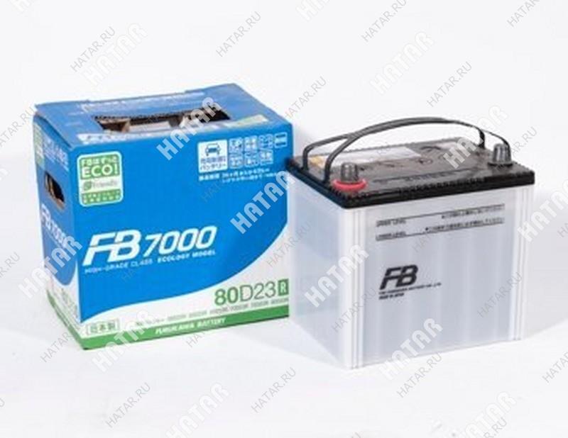 FB Аккумулятор fb7000 ёмкость 68 а/ч, пусковой ток 660а япония