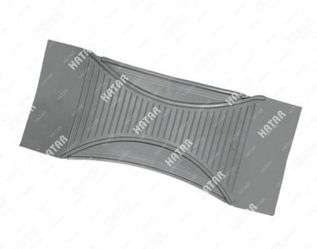 AUTOPROFI Коврик-перемычка, морозостойкий для всех ковров как 5-й предм. в комплект серый