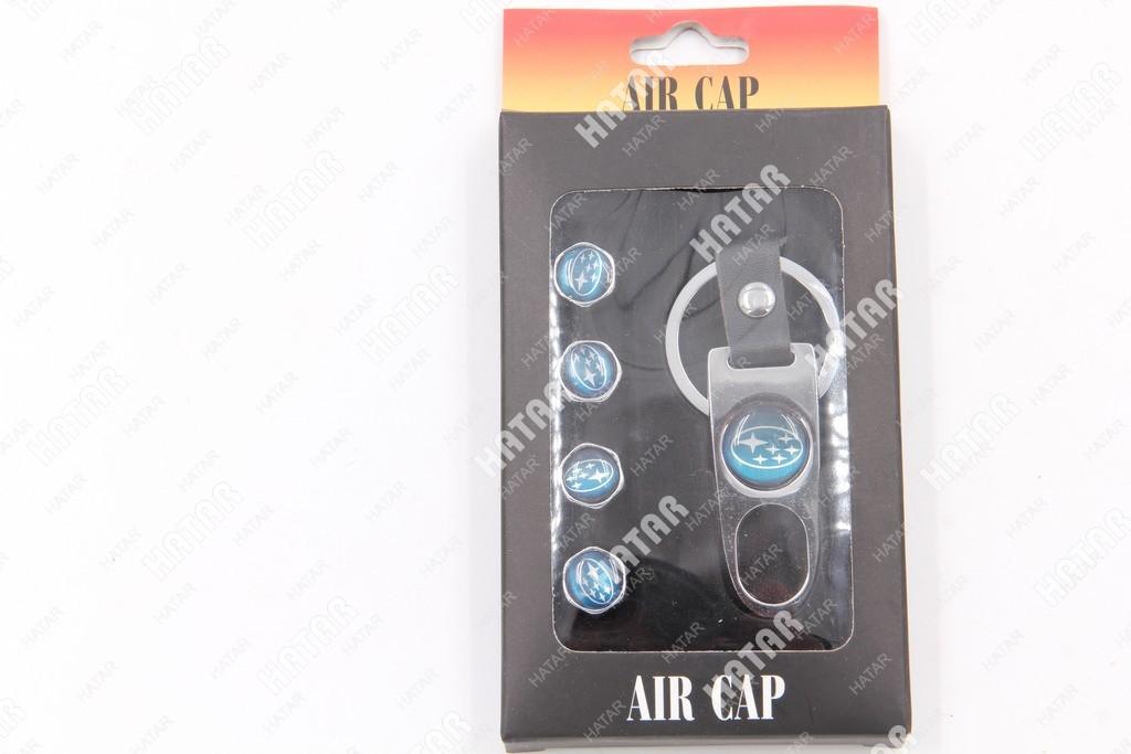 AIR CAP Колпачки на ниппель subaru набор 4шт