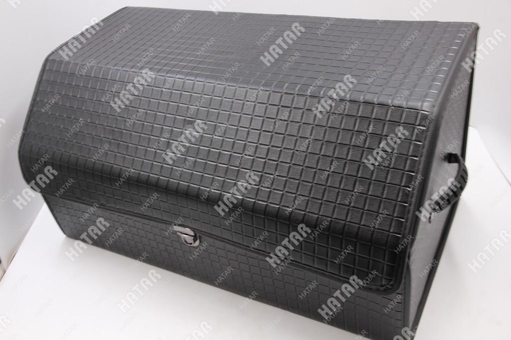 BOOST Кейс в багажник большой черный клетка