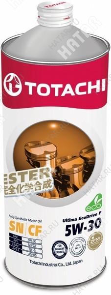TOTACHI 5w30 ultima eco drive f масло моторное,синтетика, sn/cf 1л