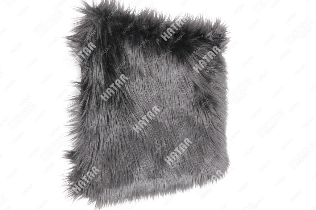 BOOST Накидка на сиденье натуральный мех черный