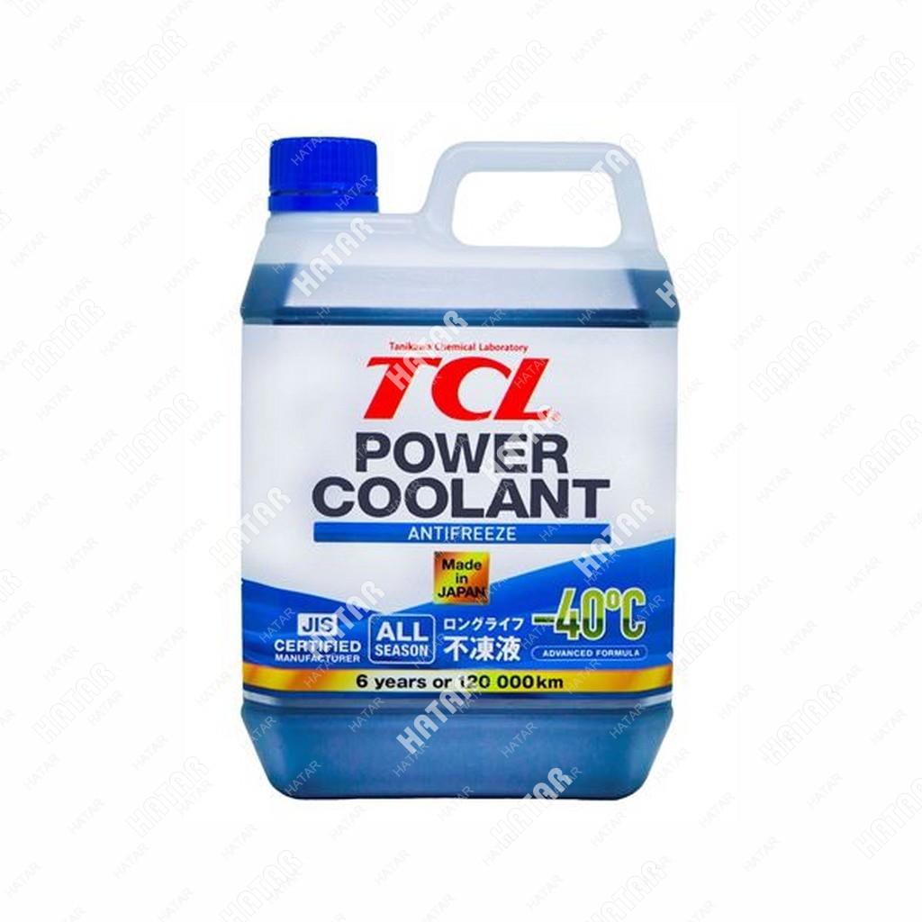 TCL Power coolant -40c антифриз синий, длительного действия 120000км, 2л