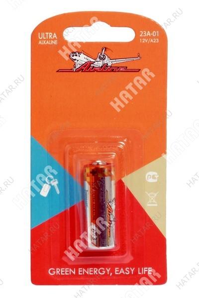 AIRLINE Батарейка a23 12v для брелоков сигнализаций щелочная 1шт