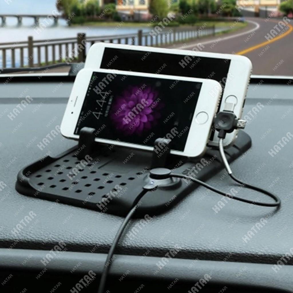 FLY Коврик-подставка для телефона/планшета с зарядным устройством универсальная с цифрами