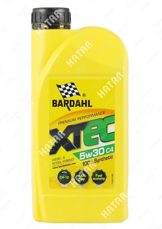 BARDAHL 5w-30 xtec cинтетическое моторное масло c4-12 1л