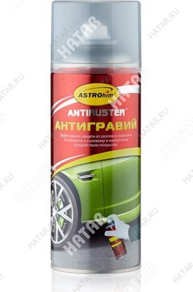 ASTROHIM Антигравий прозрачный, серия antiruster, аэрозоль 520мл