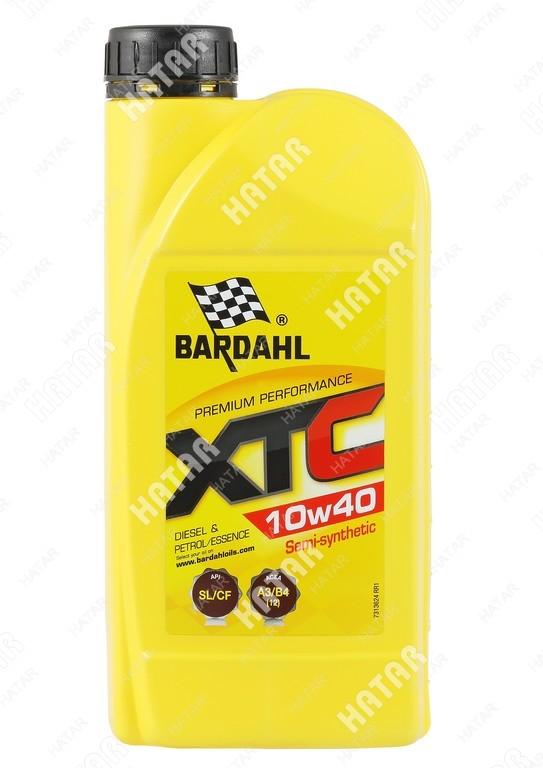 BARDAHL 10w-40 xtc полусинтетическое моторное масло sl/cf 1л