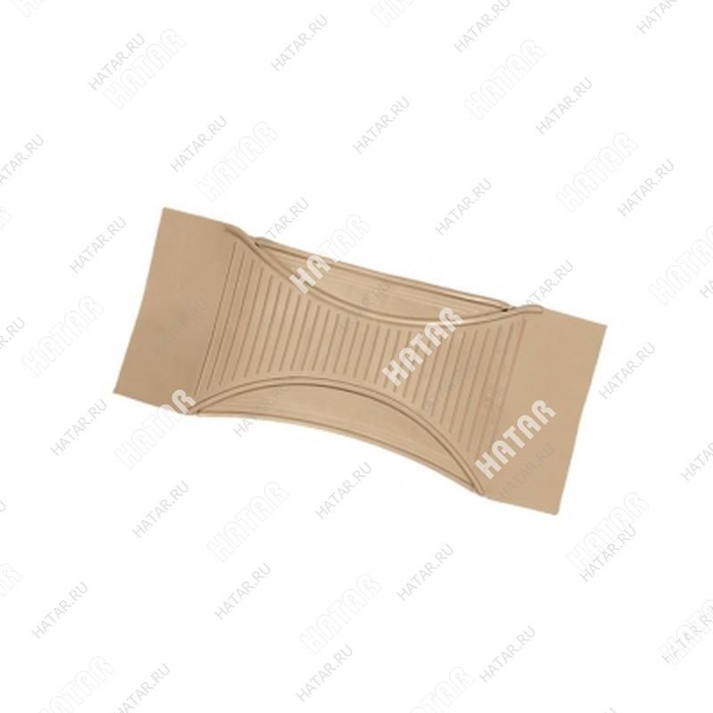 AUTOPROFI Коврик-перемычка, для всех ковров как 5-й предм. в комплект, пвх, 60х26см, пвх серый