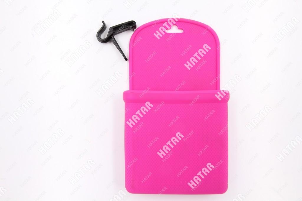 AJM Car bag карман подставка под телефон/очки розовый
