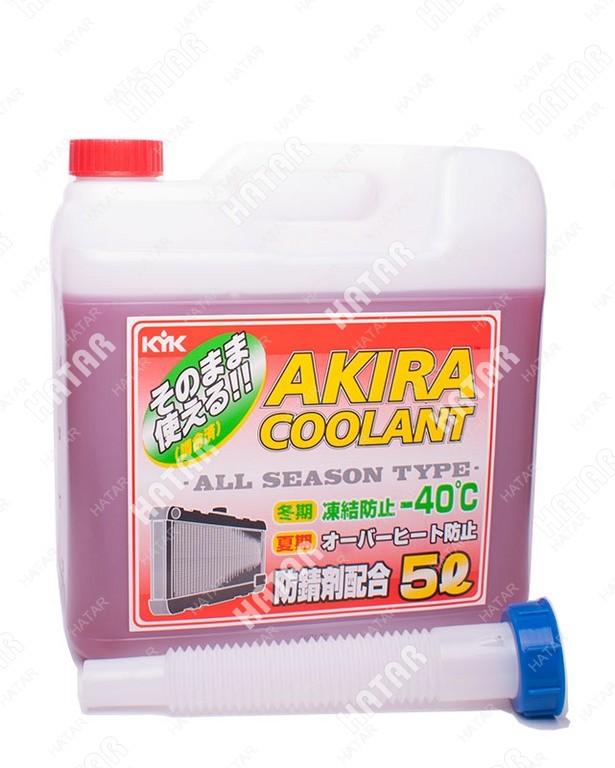 AKIRA Антифриз coolant red -50 красный 5л