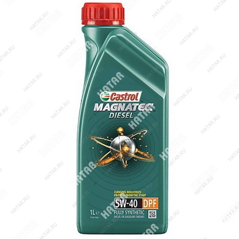 CASTROL Magnatec diesel 5w40 dpf масло моторное синтетика sn/cf 1л