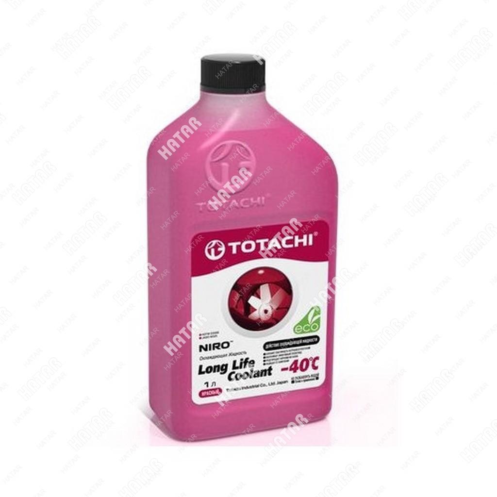 TOTACHI Super llc red -40 антифриз красный 1л