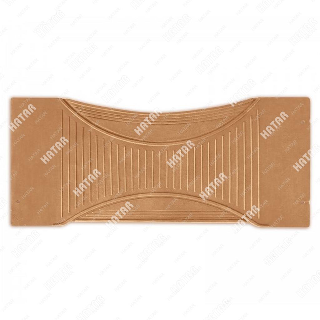 PREMIER Коврик-перемычка автомобильный comfort, бежевый, термоэластичная резина