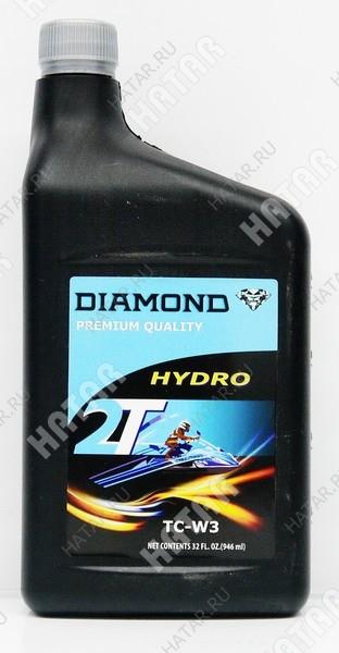 DIAMOND 2t hydro масло моторное для двухтактных двигателей tc-w3 0,946л