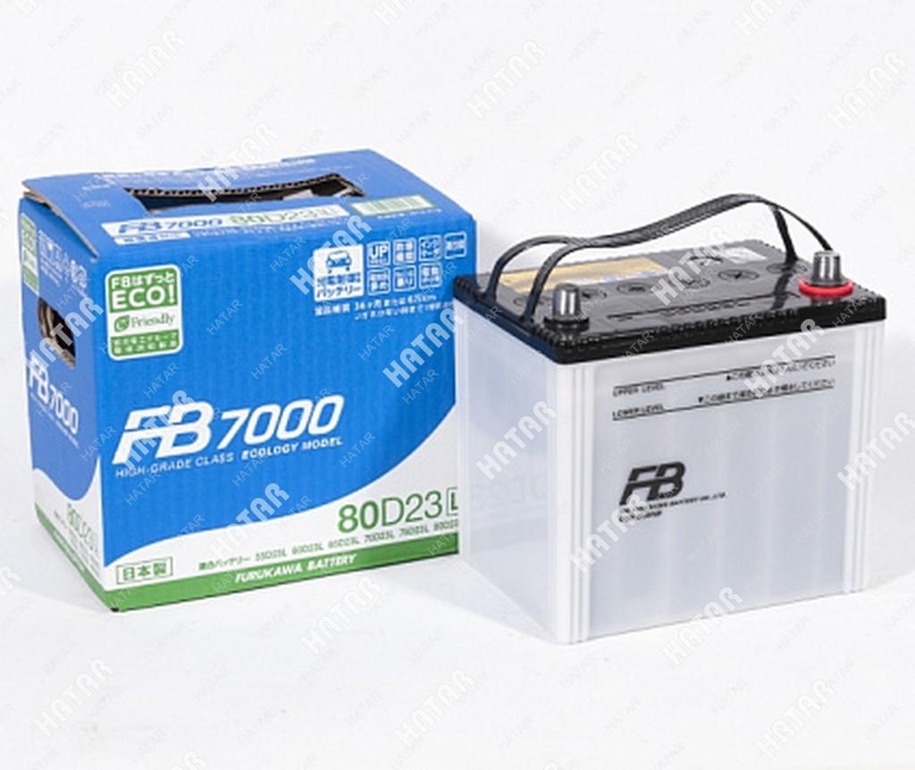 FB Аккумулятор fb7000 япония ёмкость 68 а/ч, пусковой ток 660а япония