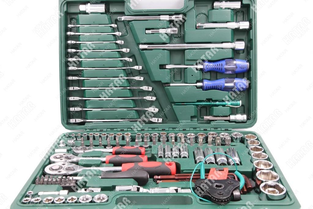 BOOST Набор инструментов универсальный 121 предмет (пластиковый кейс)