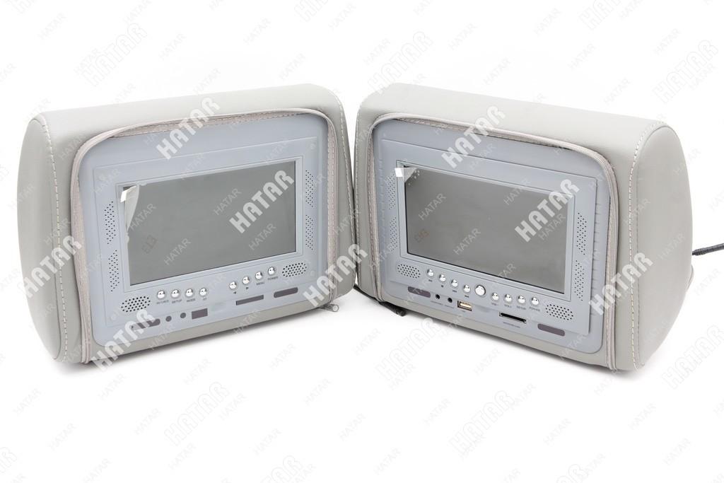 AUTO ACCESSORIES Dvd player multi-media (серый) 1шт комплект (c dvd+монитор)