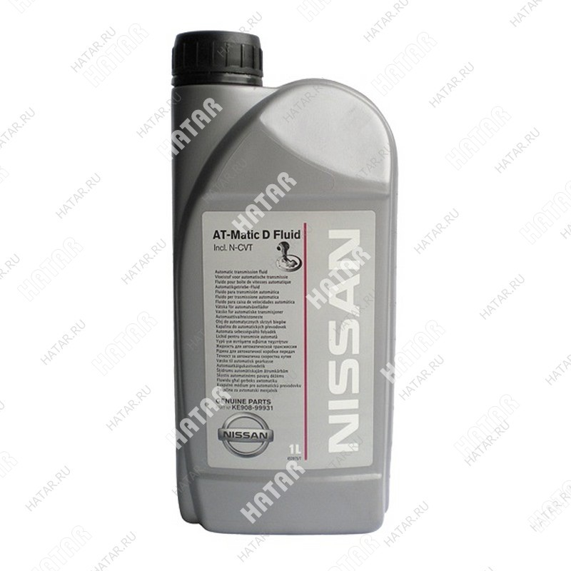 NISSAN At matic d масло трансмиссионное 1л