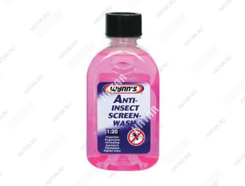 WYNNS Омыватель стекол летний концентрат (1:20) anti-insect screen-wash 250мл