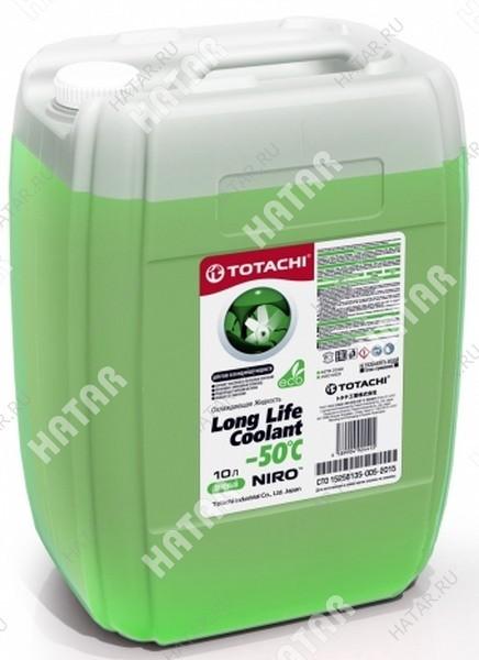 TOTACHI Super llc green -40 антифриз зеленый  10л
