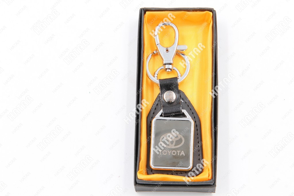 AUTO ACCESSORIES Брелок для ключей toyota кожа