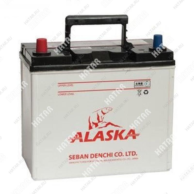 ALASKA 55b24r mf45r аккумуляторная батарея 45а/ч 430а
