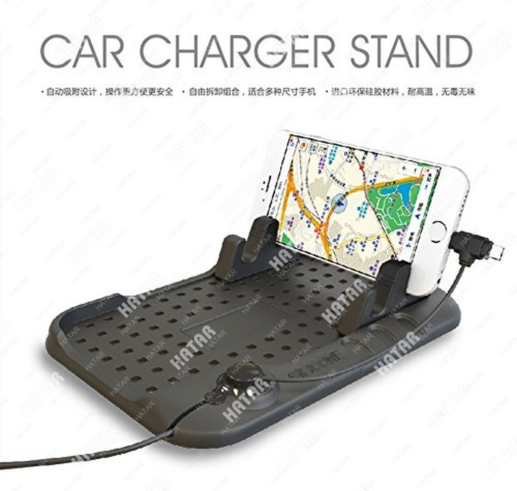 FLY Коврик-подставка для телефона/планшета с зарядным устройством универсальная
