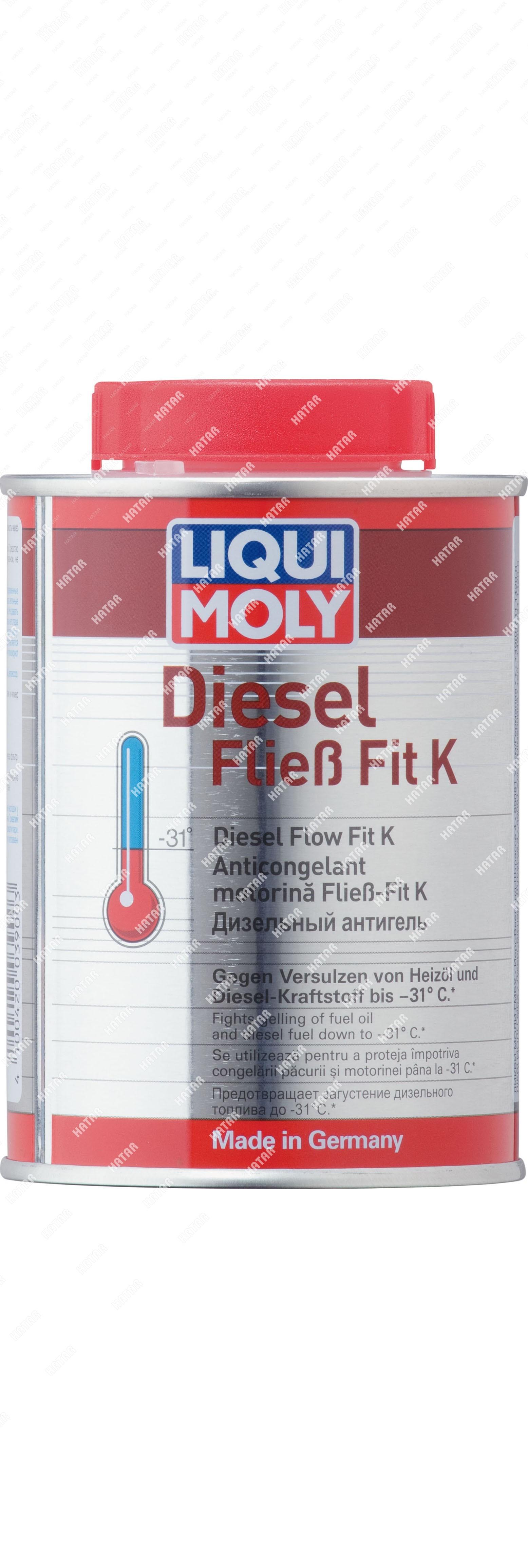 LIQUI MOLY Антигель дизельный концентрат diesel fliess-fit k (0,25л)