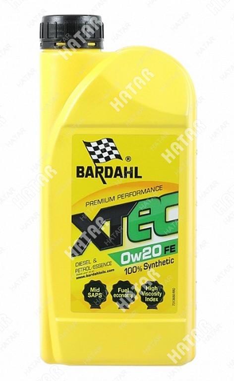 BARDAHL Xtec 0w20 v a1/b1 1l (специальное синт. моторное масло)