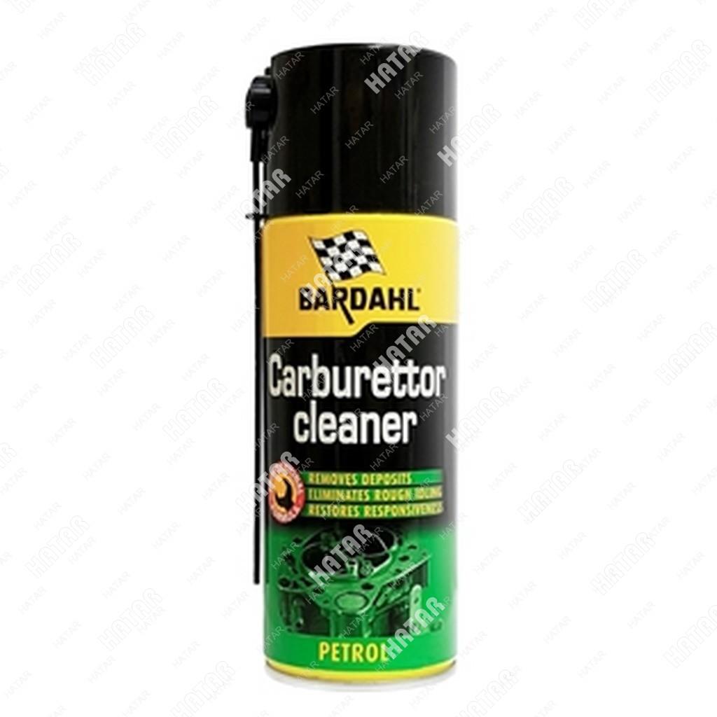 BARDAHL Очиститель карбюратора carburetor cleaner export 400мл