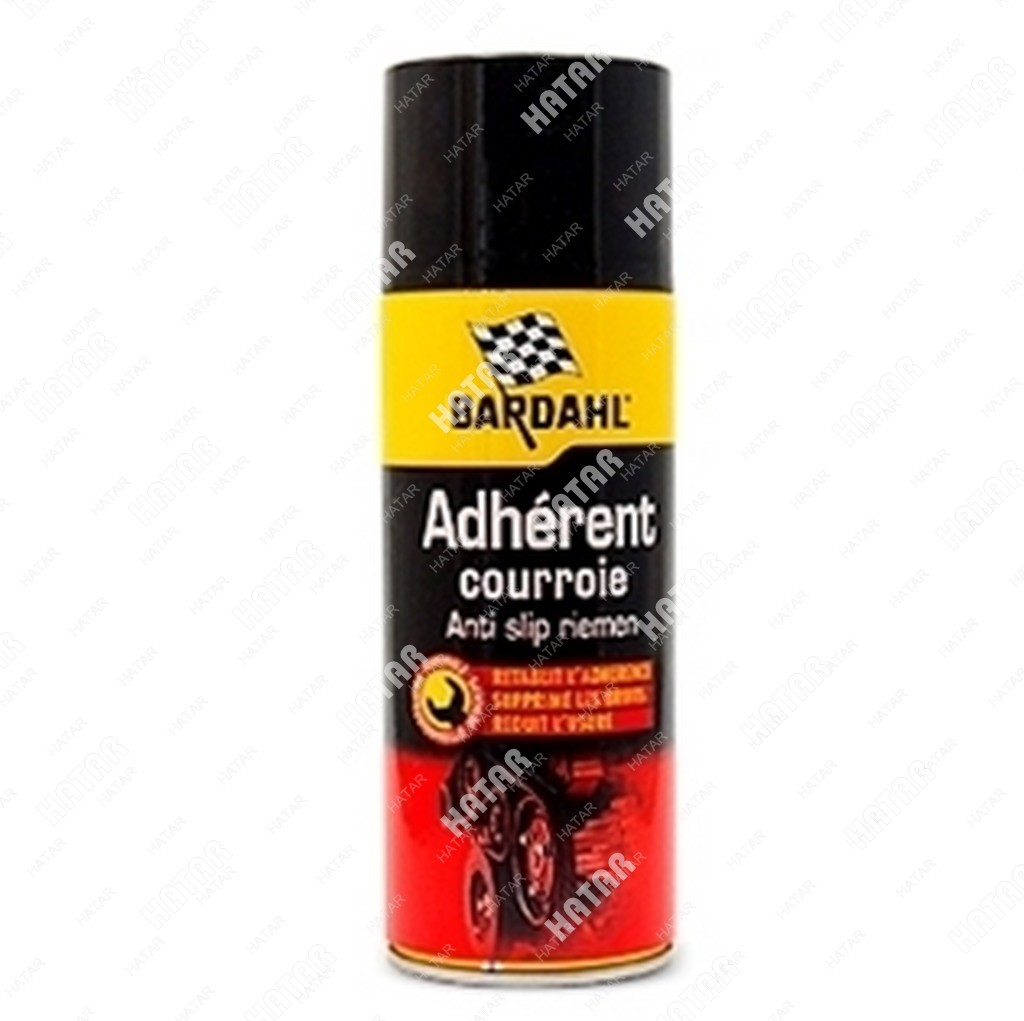 BARDAHL Adherent courroie смазка для приводных ремней (антискрип), спрей 400мл