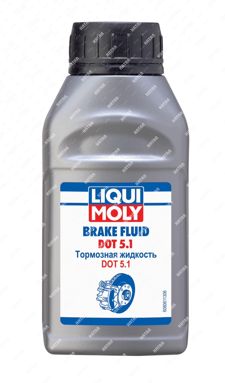 LIQUI MOLY Жидкость тормоз. brake fluid dot 5.1 (0,25л)