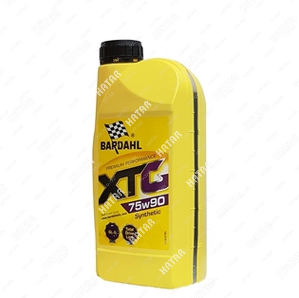 BARDAHL 75w90 gl4/5 xtg 1l (синт. трансмисионное масло)
