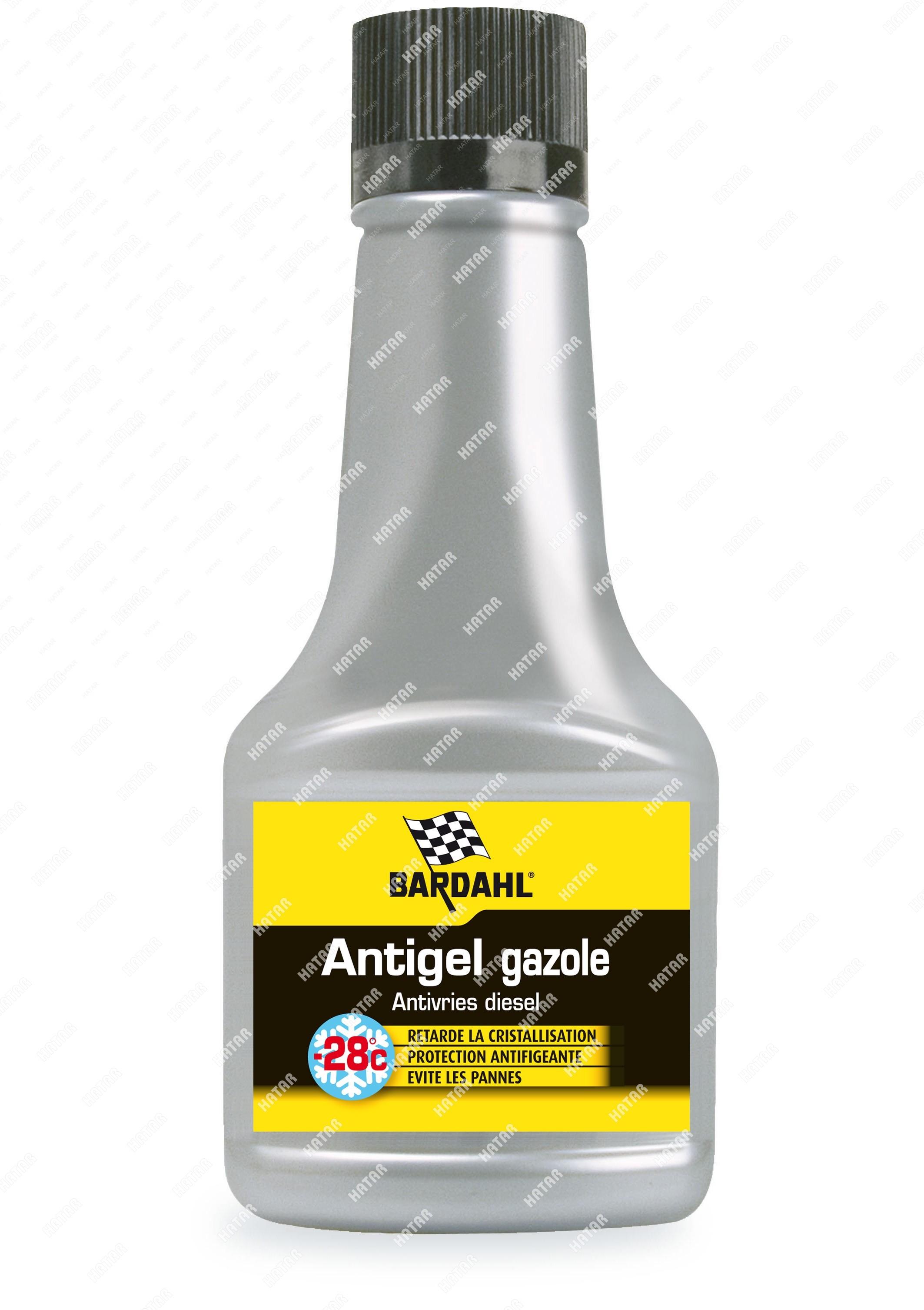 BARDAHL Diesel antifreeze присадка в дизельное топливо 125мл