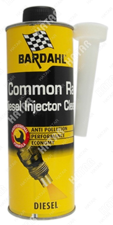 BARDAHL Common rail diesel injector cleaner присадка в дизельное топливо 0,5л