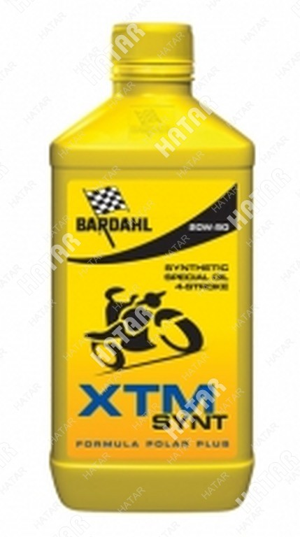 BARDAHL 20w50 xtm synt moto 1l (специальное синт. моторное масло)